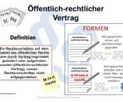 Öffentlich-rechtlicher Vertrag