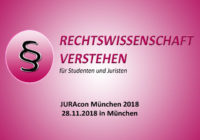 JURAcon München 2018 – 28.11.2018 in München | Rechtswissenschaft Blog