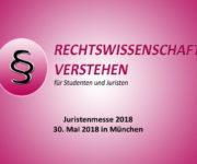 Juristenmesse 2018
