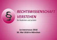 Juristenmesse 2018 | Rechtswissenschaft Blog